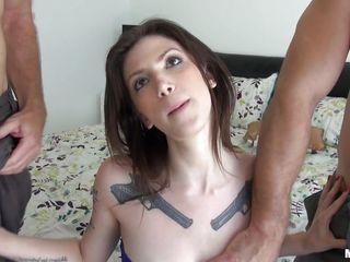Жесткий секс с избиением