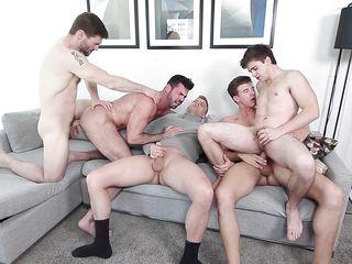 гей порно оргия